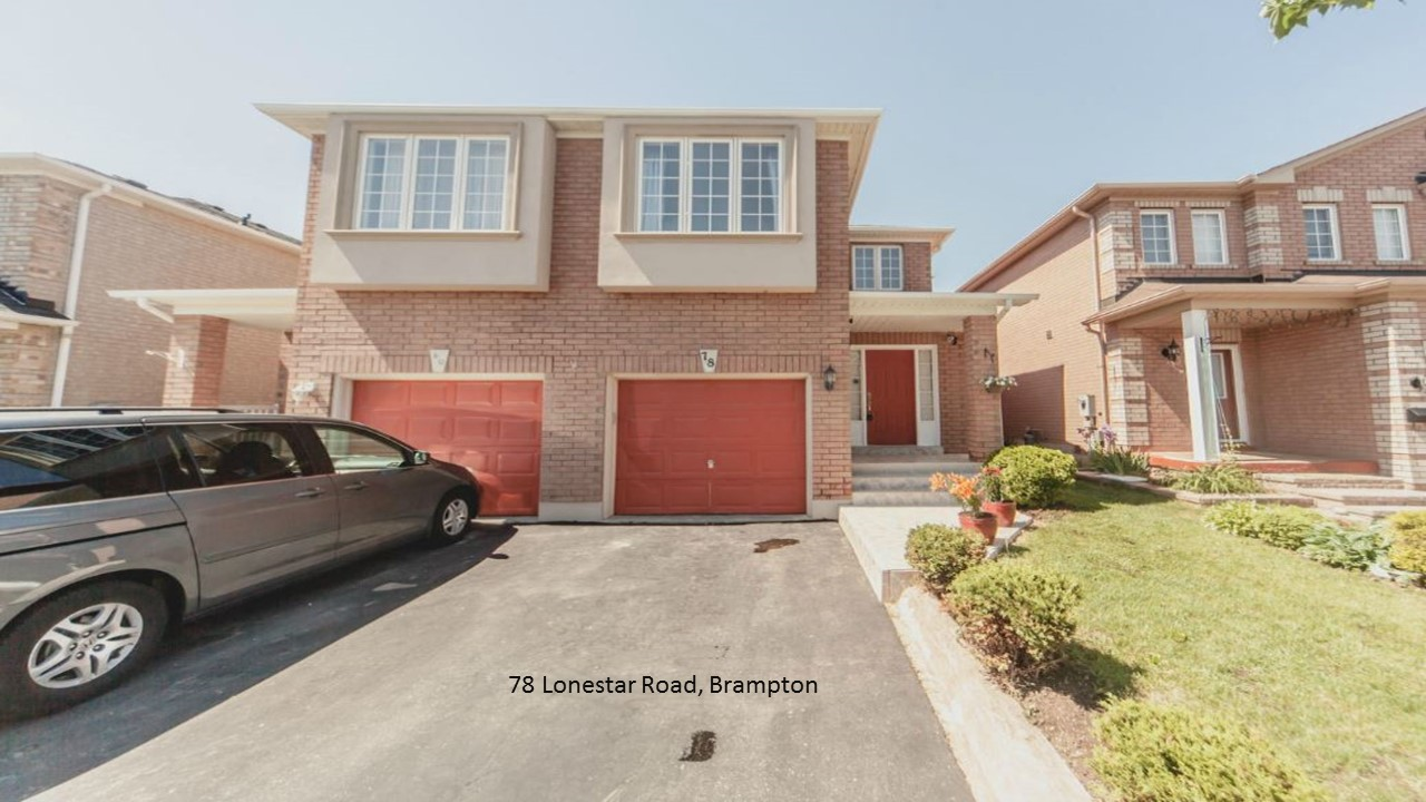 78 Lonestar Road, Brampton
