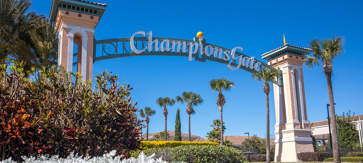 Championsgate vacation homes in Florida
