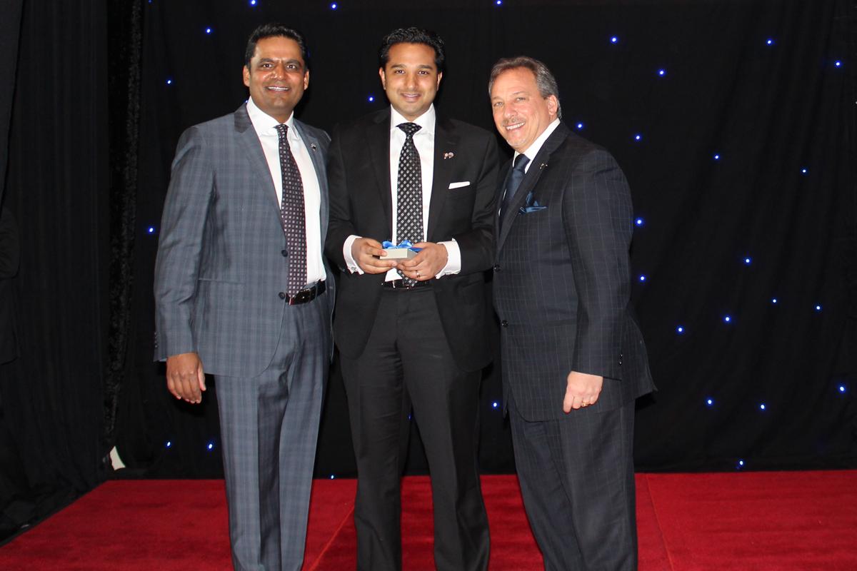 Platinum Club Award - Mitch Vora