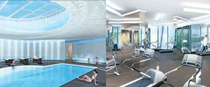 Swimming Pool Project Management : Ice ii by cadillac fairview corporation